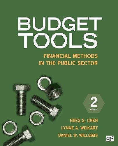 Budget Tools : Financial Methods in the Public Sector